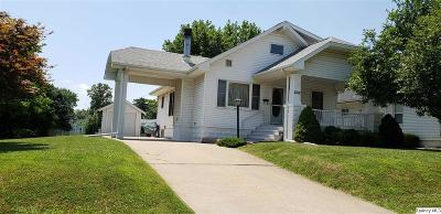 Quincy IL Single Family Home For Sale: $139,000