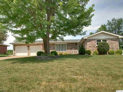 Quincy IL Single Family Home For Sale: $183,500