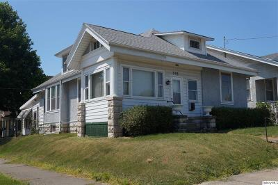 Quincy IL Single Family Home For Sale: $108,000