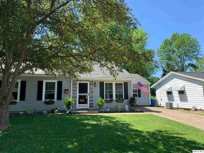 Quincy IL Single Family Home For Sale: $125,900