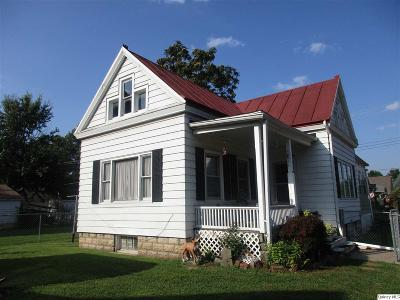 Quincy IL Single Family Home For Sale: $97,000