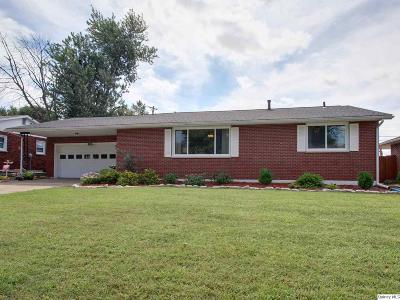 Quincy IL Single Family Home For Sale: $134,900