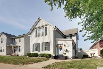 Quincy IL Single Family Home For Sale: $89,900