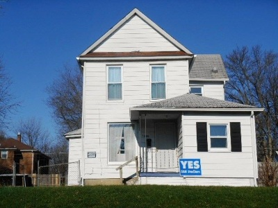 Davenport IA Single Family Home For Sale: $58,000