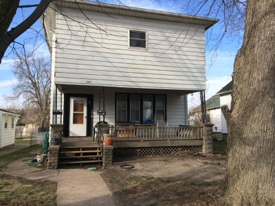 Clinton Multi Family Home For Sale: 232 S 3rd