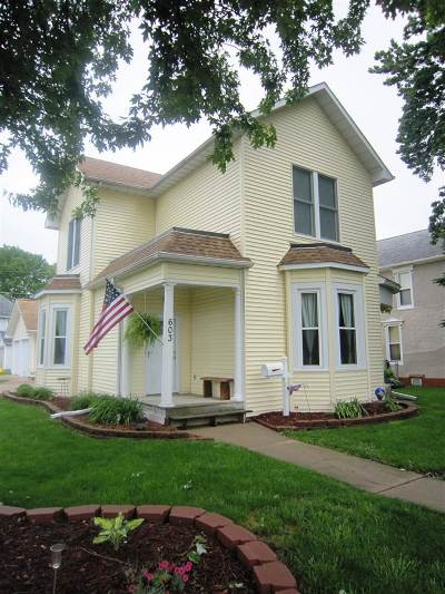 Clinton County, Whiteside County Single Family Home For Sale: 603 12th