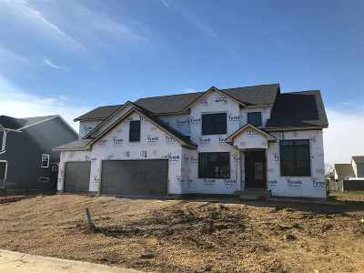 Bettendorf Single Family Home For Sale: Lot 2 Century Heights