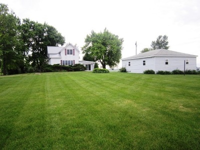 Clinton County, Whiteside County Single Family Home For Sale: 1484 370th