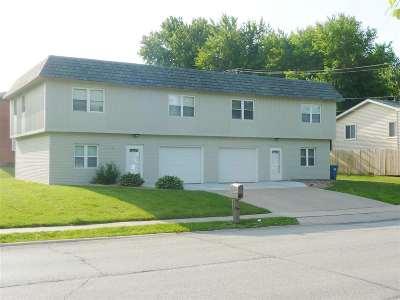 Eldridge Multi Family Home For Sale: 601 & 605 S 2nd