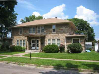Clinton Multi Family Home For Sale: 314-316 N 14th Ave