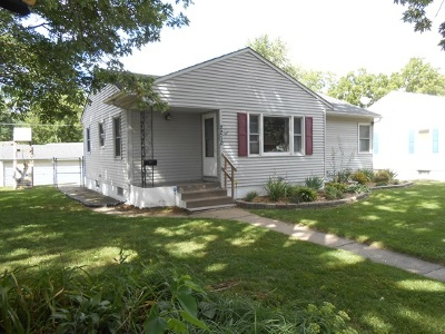 Davenport IA Single Family Home For Sale: $135,900