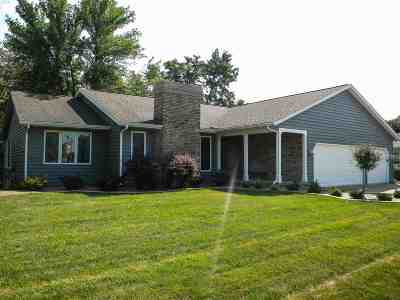 Bettendorf Single Family Home For Sale: 1635 Crow Creek