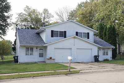 Davenport Multi Family Home For Sale: 6020 Scott