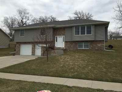 Clinton IA Single Family Home For Sale: $199,900