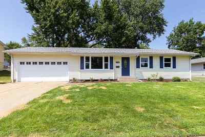 Davenport IA Single Family Home For Sale: $169,900