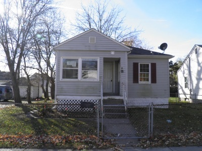 Davenport IA Single Family Home For Sale: $25,000