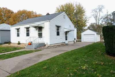 Davenport IA Single Family Home For Sale: $82,000