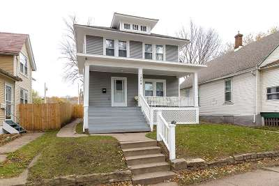 Davenport IA Single Family Home For Sale: $89,900