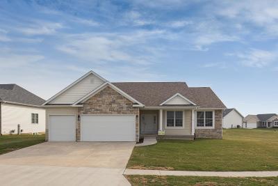 Pebble Creek, Pebble Creek N 5th Addn., Pebble Creek North, Pebble Creek South Single Family Home For Sale: 101 Cobblestone
