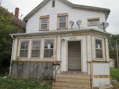 Clinton Single Family Home For Sale: 432 S 9th