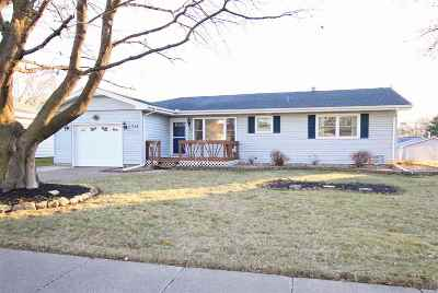 Clinton Single Family Home For Sale: 713 N 13th
