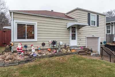 Davenport IA Single Family Home For Sale: $107,900