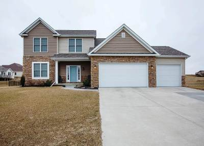 Pebble Creek, Pebble Creek N 5th Addn., Pebble Creek North, Pebble Creek South Single Family Home For Sale: 3 Redstone