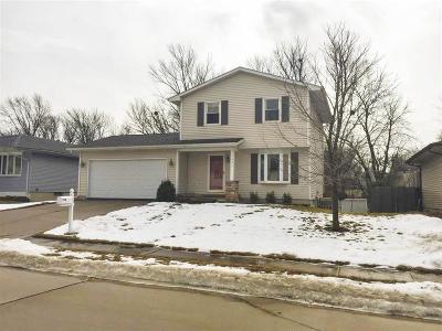 Davenport IA Single Family Home For Sale: $154,900