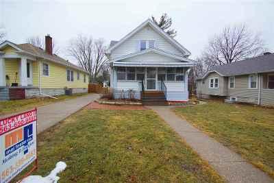 Davenport IA Single Family Home For Sale: $95,000