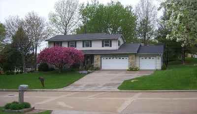 Davenport IA Single Family Home For Sale: $274,900
