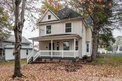 Davenport IA Single Family Home For Sale: $142,900