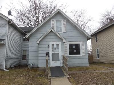 Davenport IA Single Family Home For Sale: $17,000