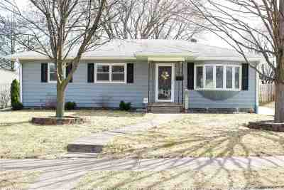Davenport IA Single Family Home Contingent: $159,000