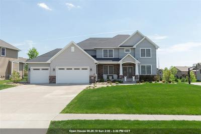 Bettendorf Single Family Home For Sale: 3315 Crow Lake