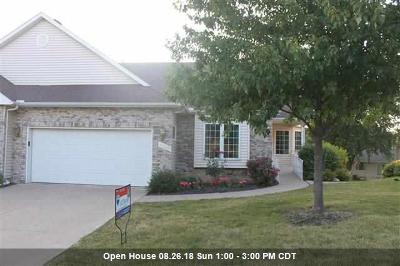 Bettendorf Condo/Townhouse For Sale: 3340 Sunburst