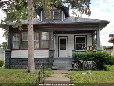 Davenport IA Single Family Home For Sale: $93,000