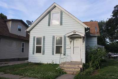 Davenport IA Single Family Home For Sale: $39,900