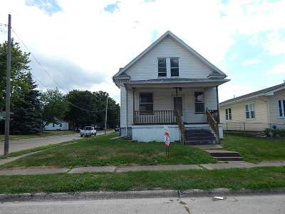 Davenport IA Single Family Home For Sale: $36,500