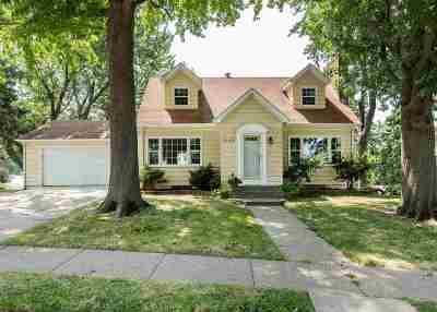 Davenport IA Single Family Home For Sale: $172,000