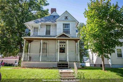 Davenport Single Family Home For Sale: 1416 Main