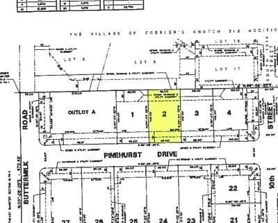 Eldridge Residential Lots & Land For Sale: 1012 W Pinehurst Drive