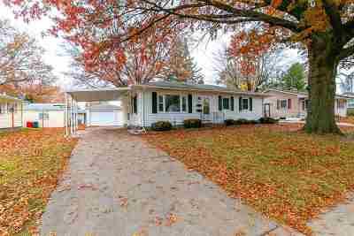 Davenport IA Single Family Home For Sale: $114,900