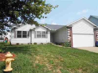 Davenport IA Single Family Home For Sale: $196,900