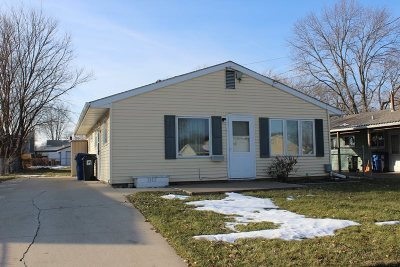 Davenport IA Single Family Home For Sale: $84,900