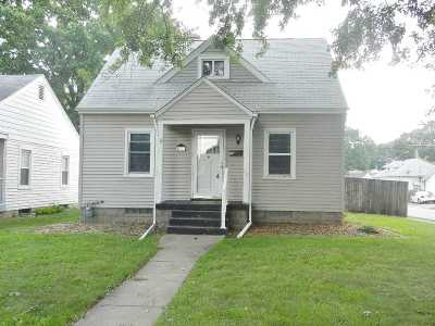 Davenport IA Single Family Home For Sale: $119,900