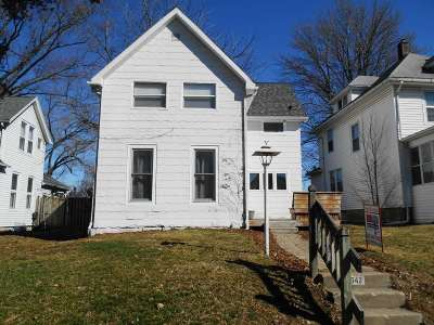 Davenport Single Family Home For Sale: 1542 W 16th Street