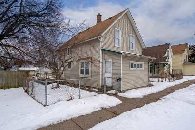 Davenport IA Single Family Home For Sale: $83,900