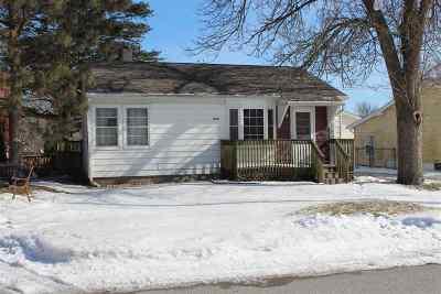 Davenport IA Single Family Home For Sale: $68,000
