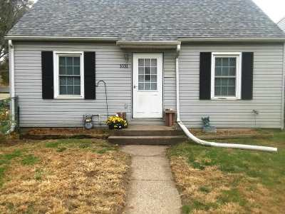 Davenport IA Single Family Home For Sale: $73,500