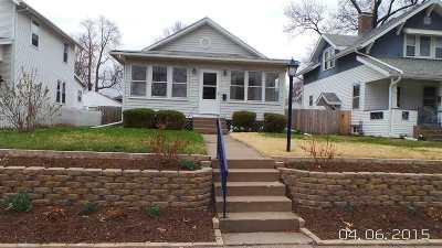 Davenport IA Single Family Home For Sale: $140,000